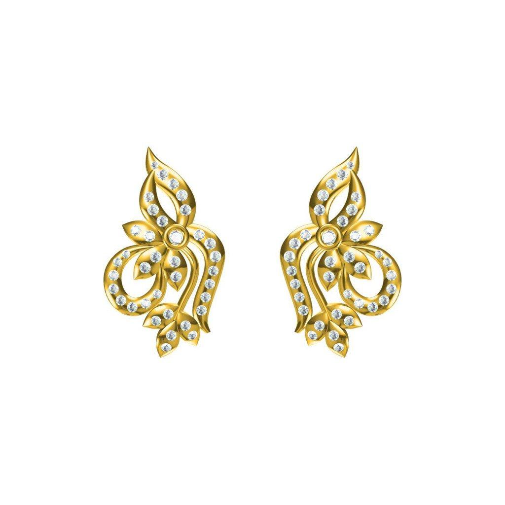 Amber Plane Earrings