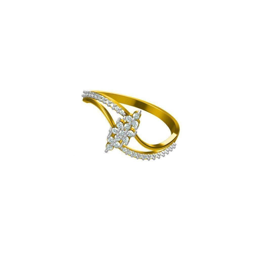Ambertwine Ring