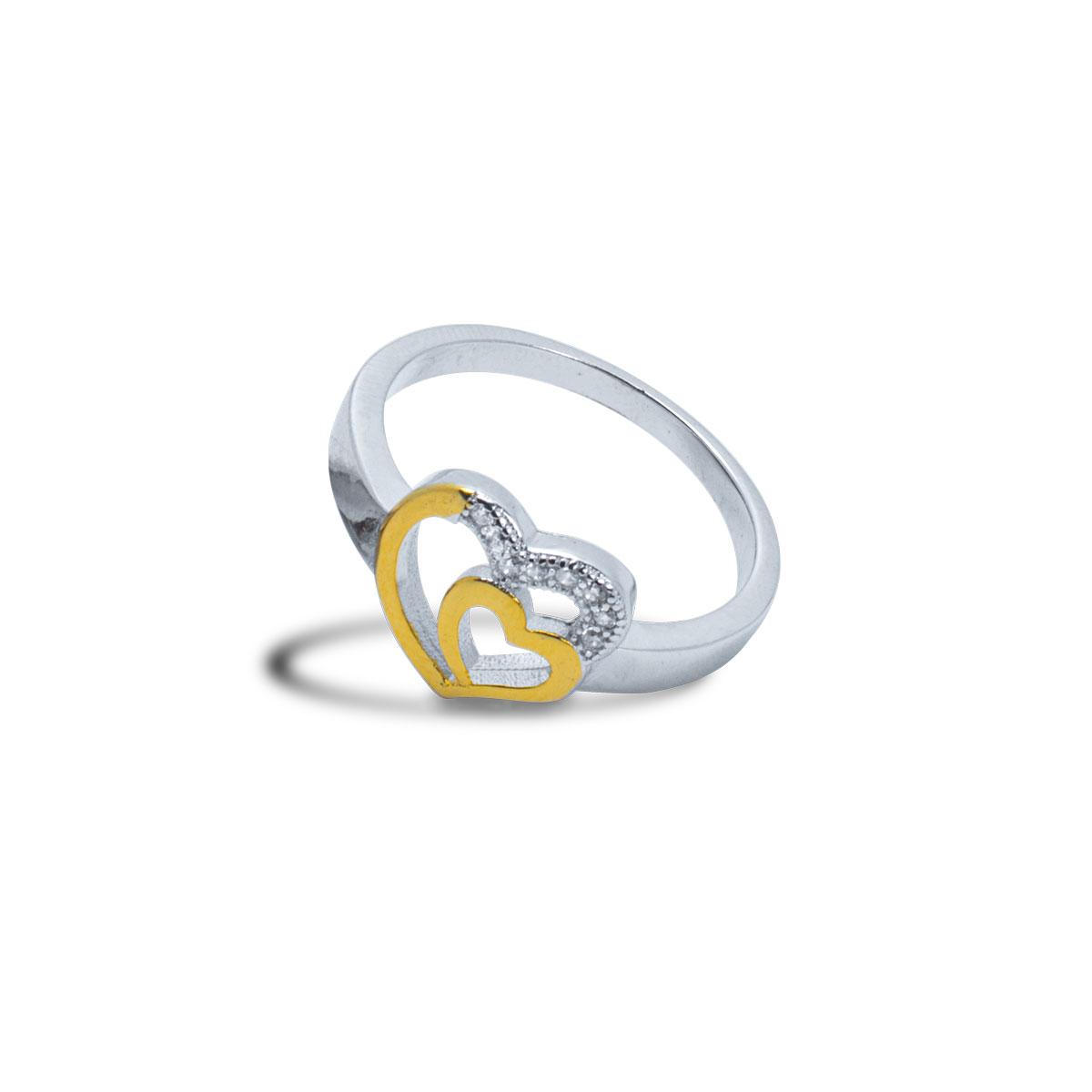 Arc Heart Ring