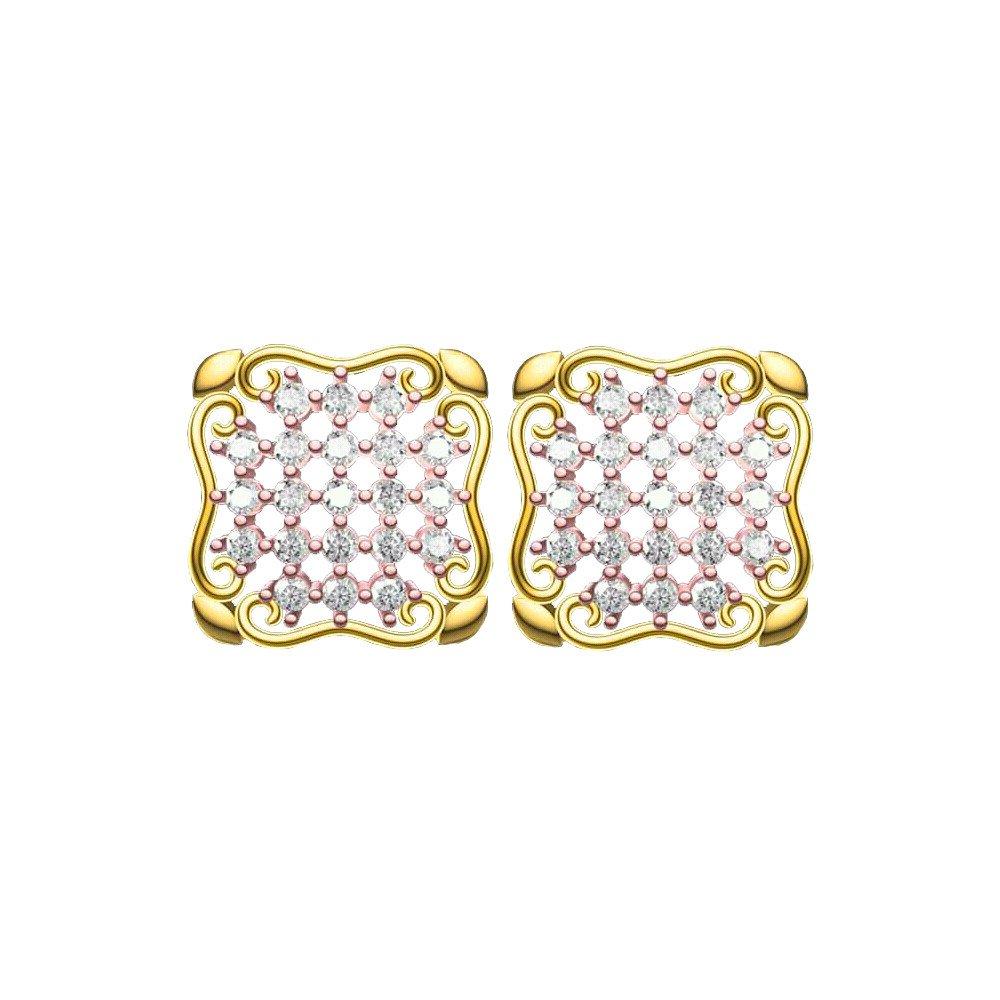 Bloom Link Earrings