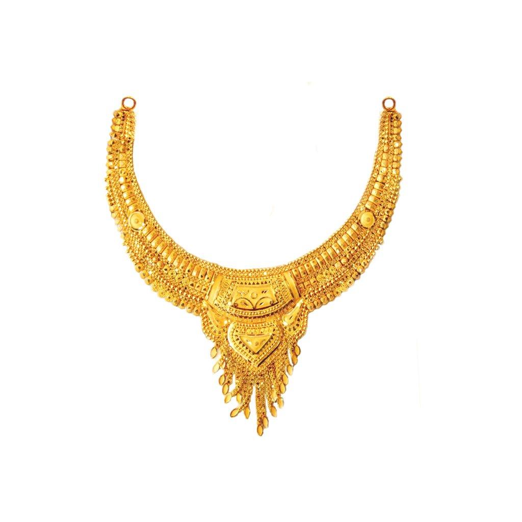 Carnation Gold Necklace