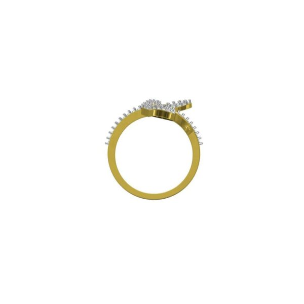 Carnations Gold Ring