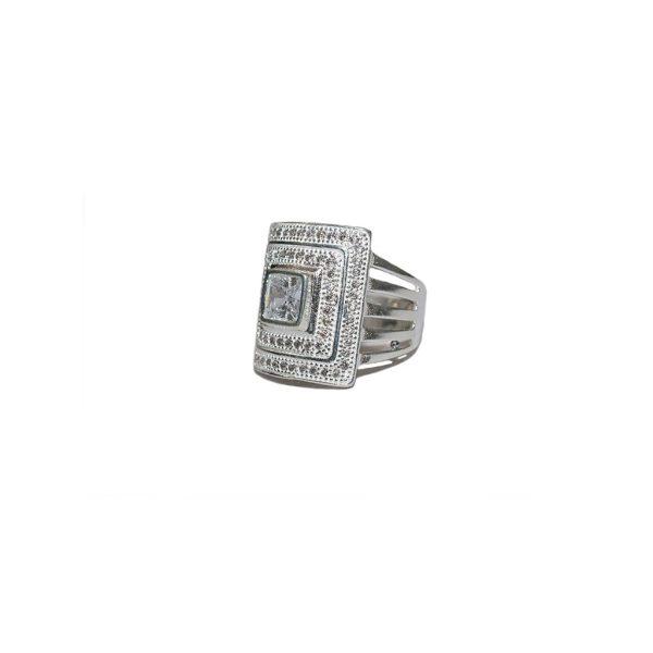 Crystal Garnite Ring