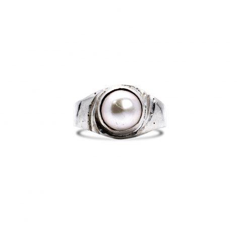 Chandra Silver Ring
