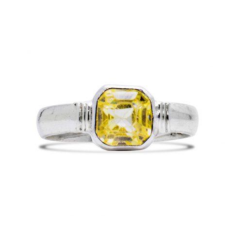 Chiffon Silver Ring