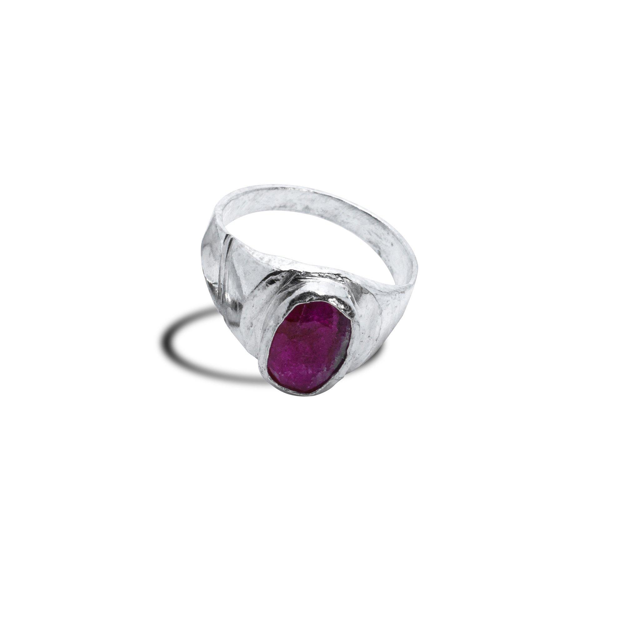 Surya Silver Ring