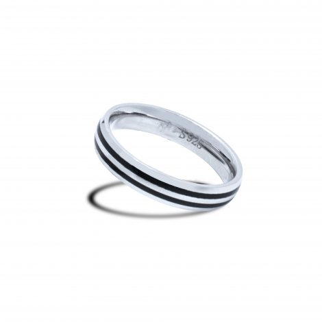 Duo Line Ring