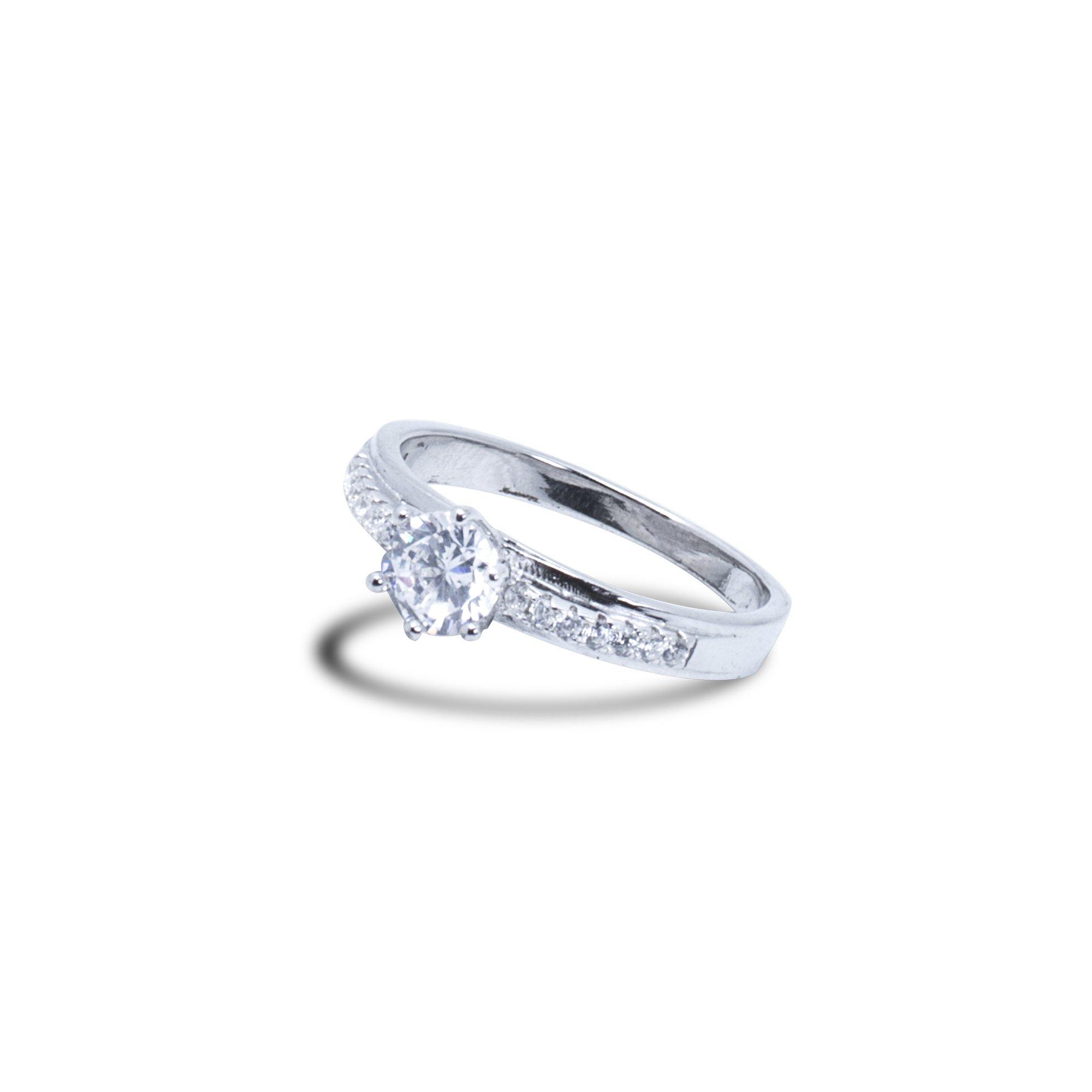 Silver Prism Ring