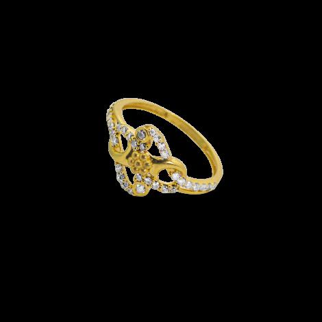 Diamond Blossom Ring