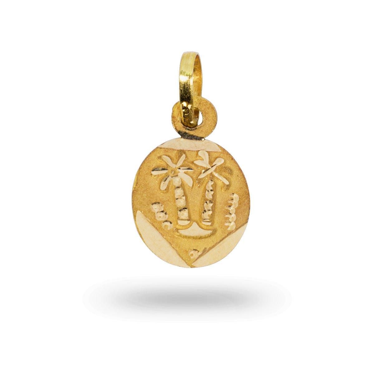 Gold Flake Pendant