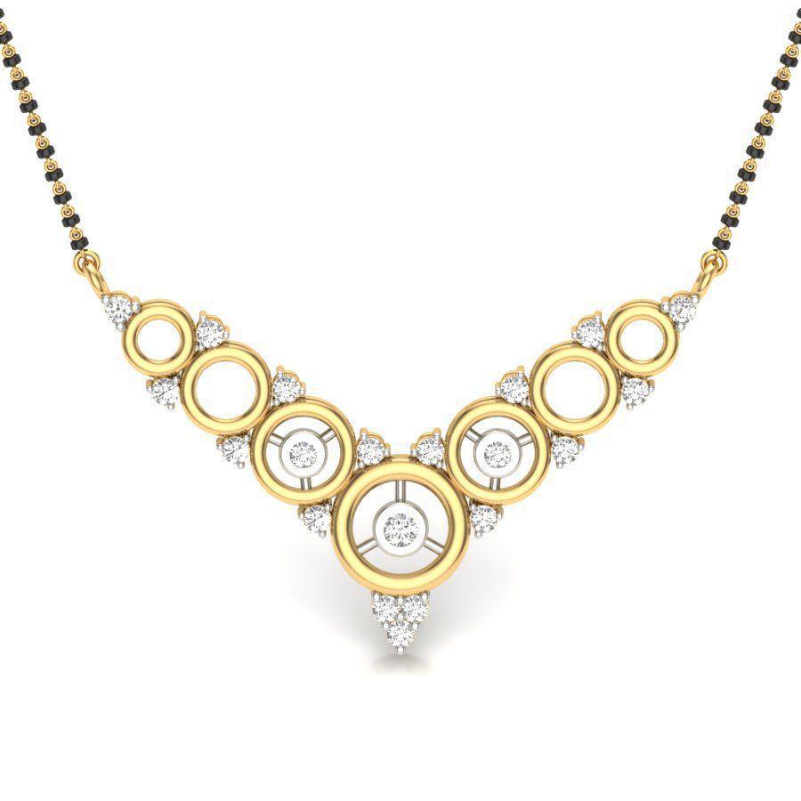 Golden Circle Pendant