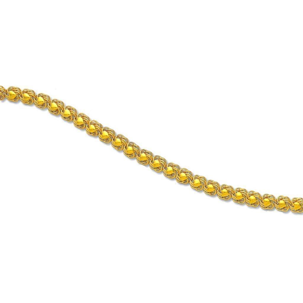 Golden Cluster Chain