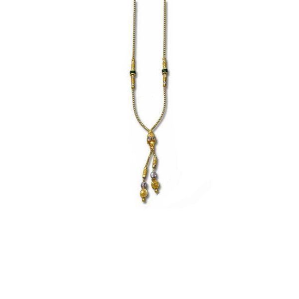 Golden Symphony Necklace