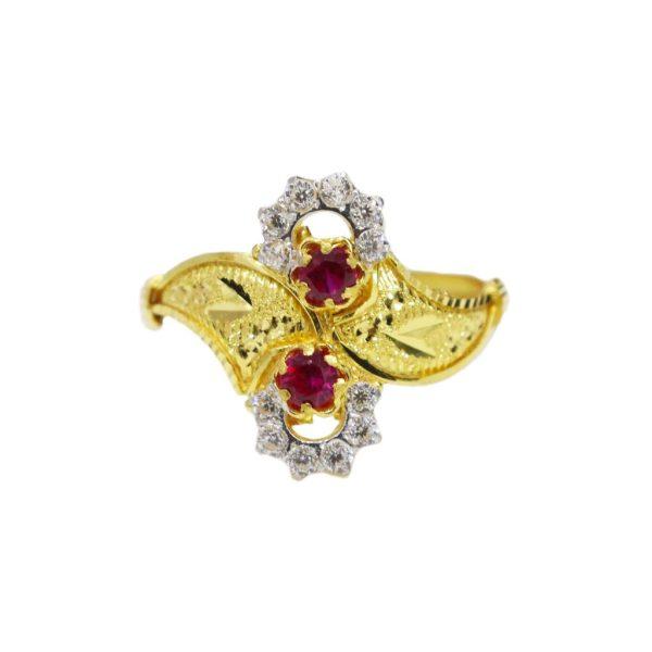 Lavatera Magenta Ring
