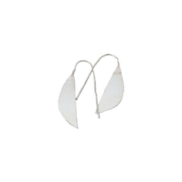 Lilac Silver Earrings