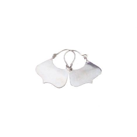 Silver Bag Earrings