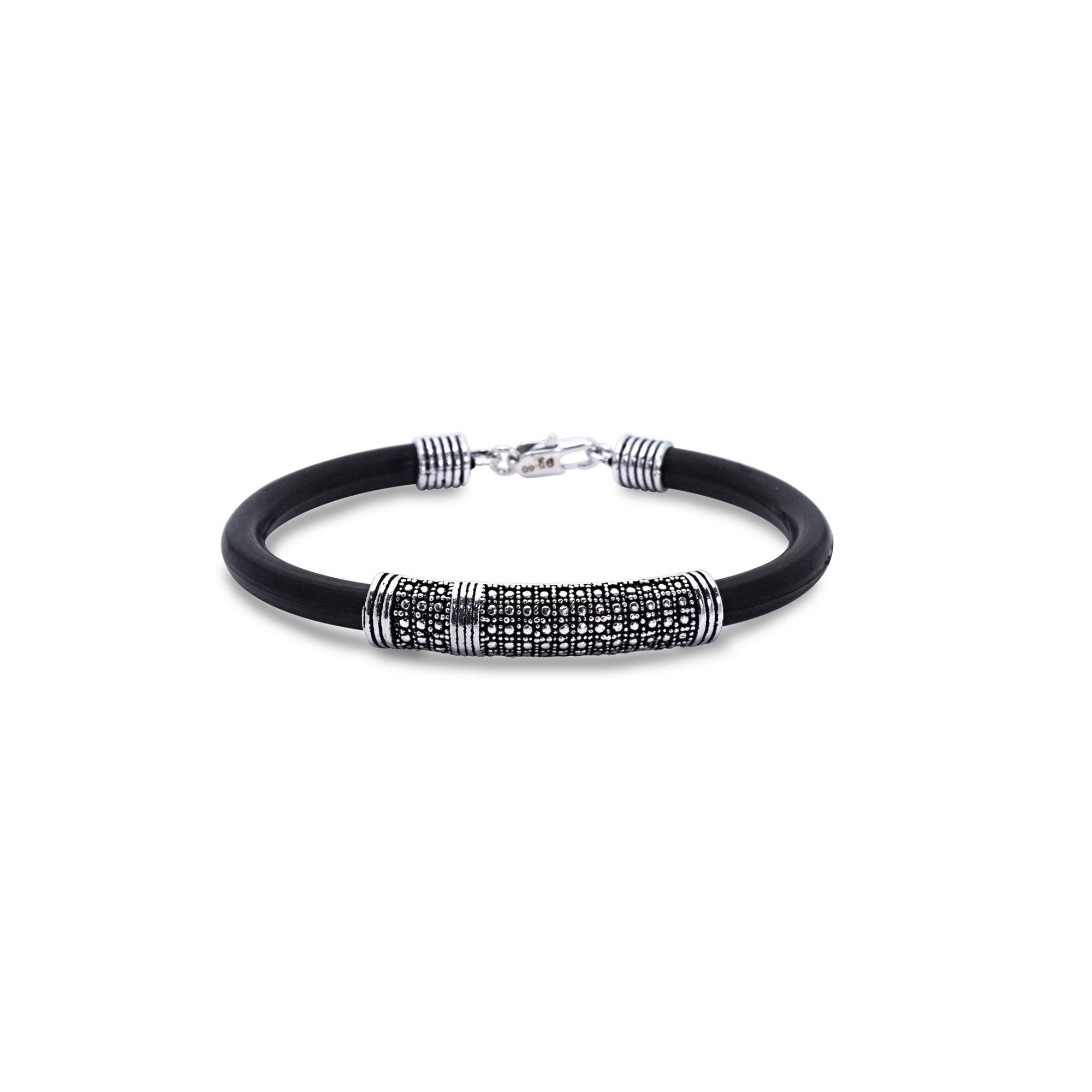 Silver Crust Bracelet