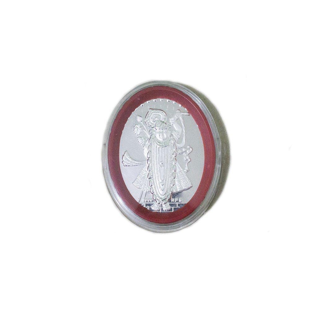 Silver Srinathji Murti
