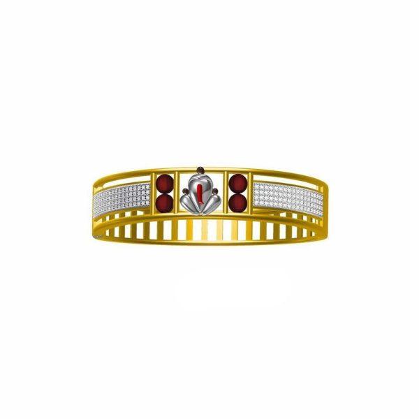 Simple Ganesh Bracelet