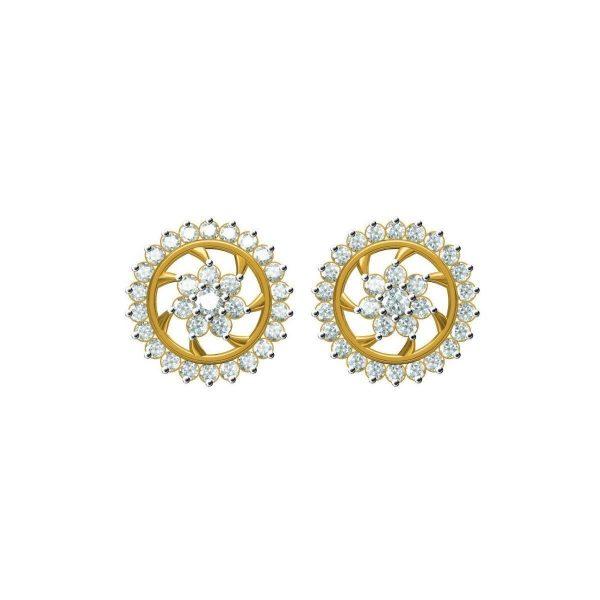 Spiral Ring Earrings