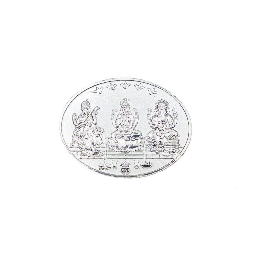 Tridev Silver Murti