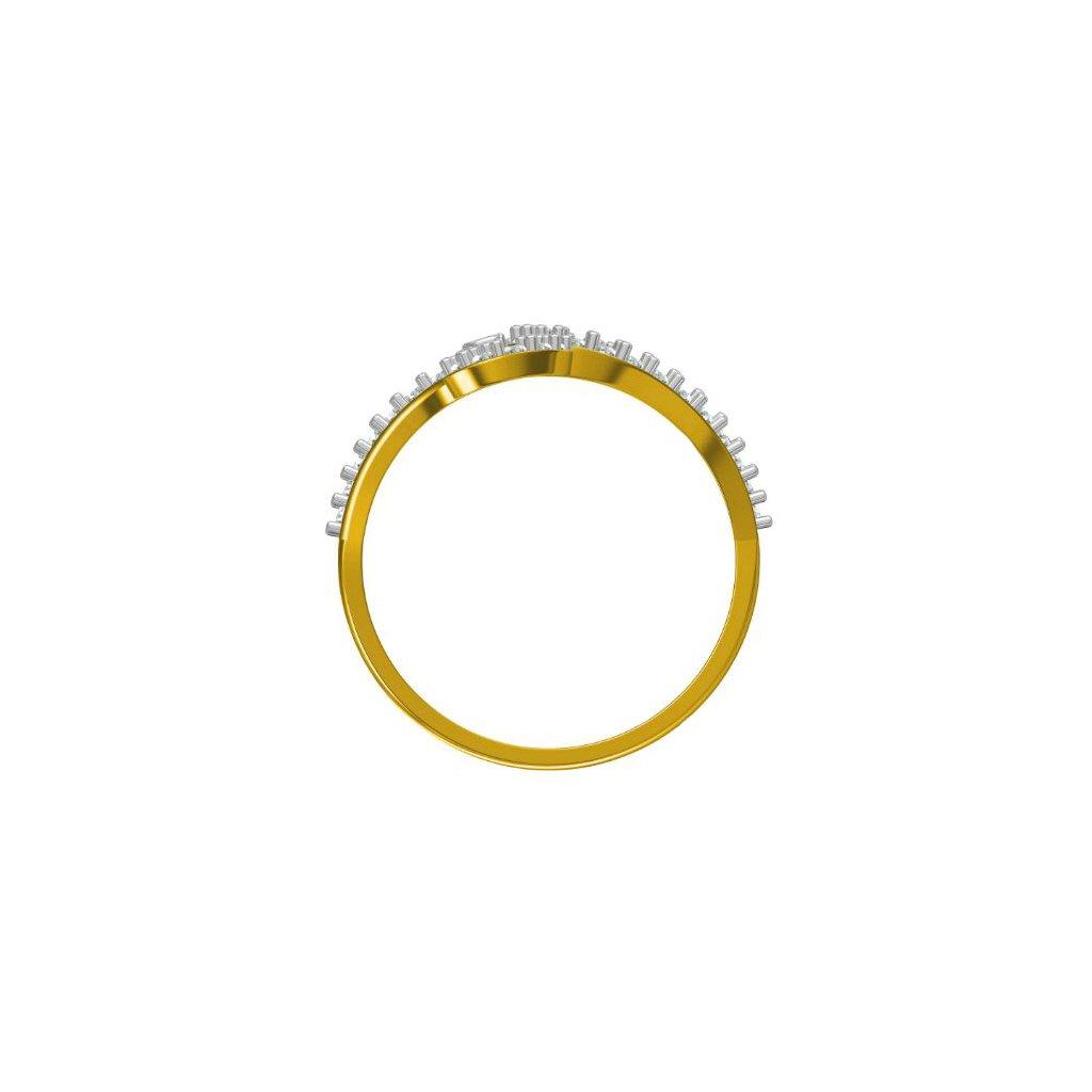 White Pear Ring