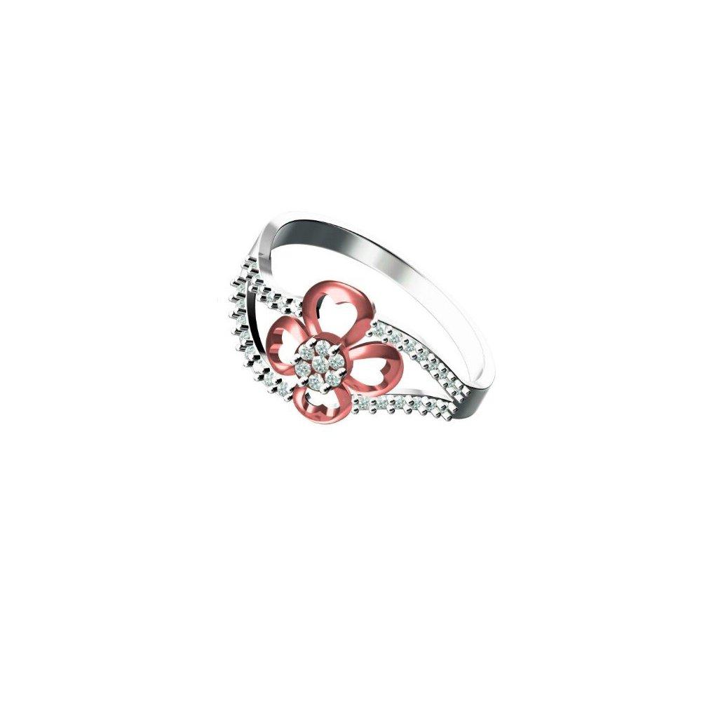 Florite Gold Ring