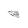 White Figaro Ring
