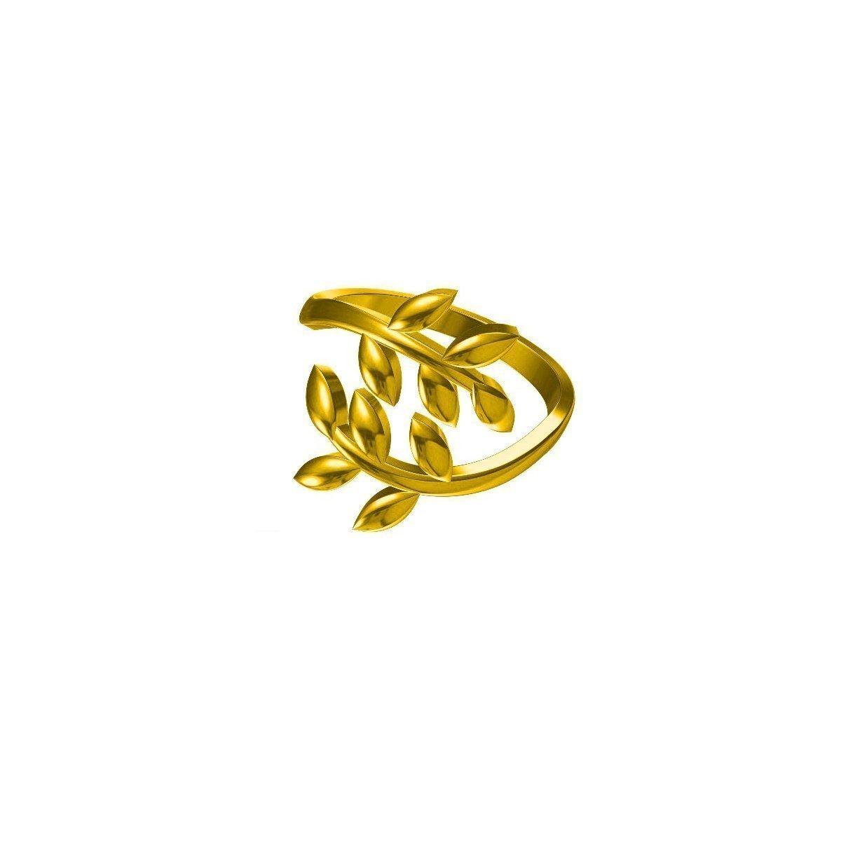 Olive Wave Ring