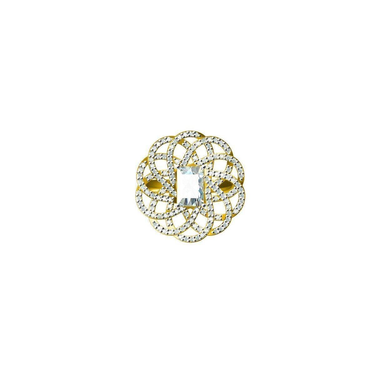 Amber Star Ring
