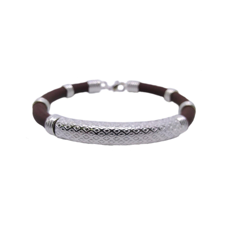 Imprint Silver Bracelet