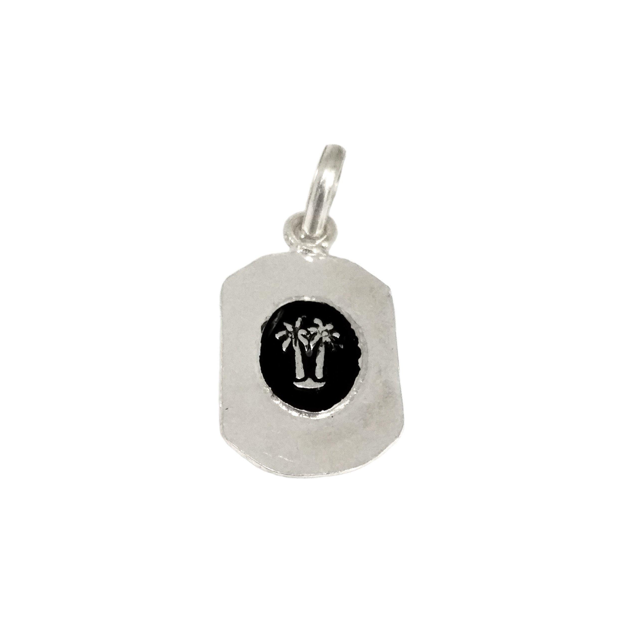 Silver Palm Pendant