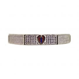 Blue Sword Sterline Bracelet