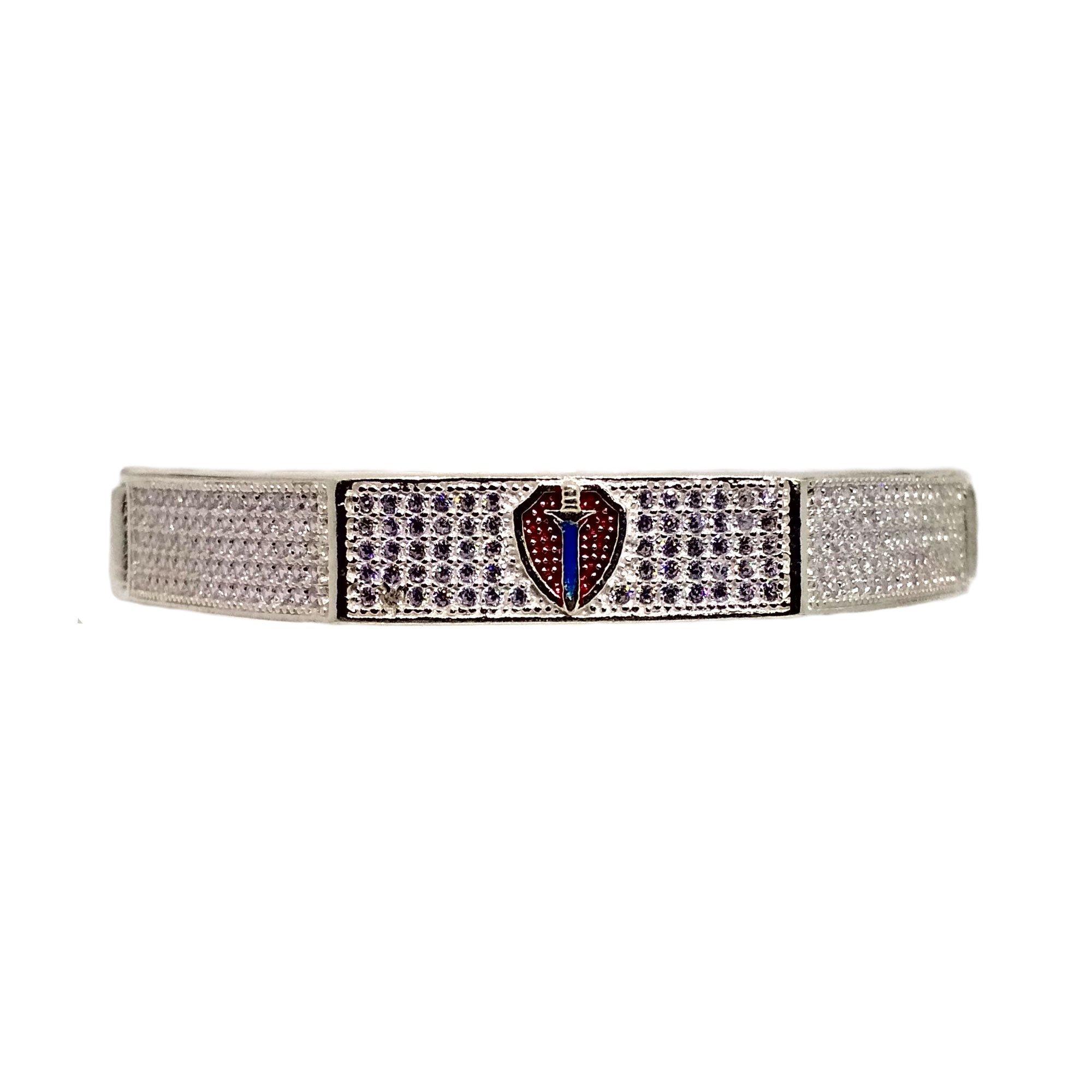 Blue Sword Sterline Bracelet