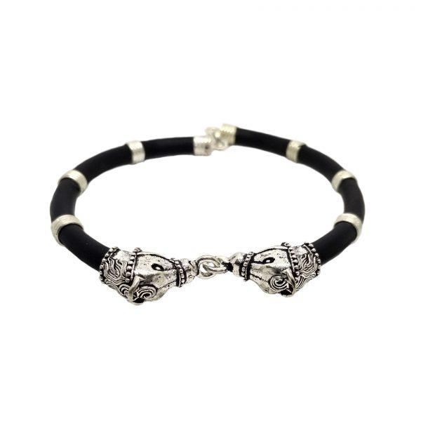 Gaumukh Silver Bracelet