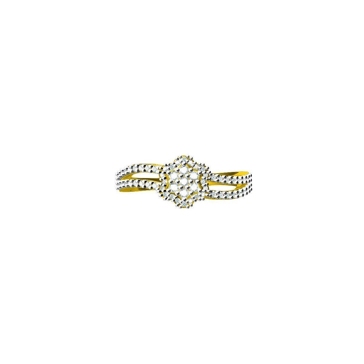 Clashtine Diamond Ring