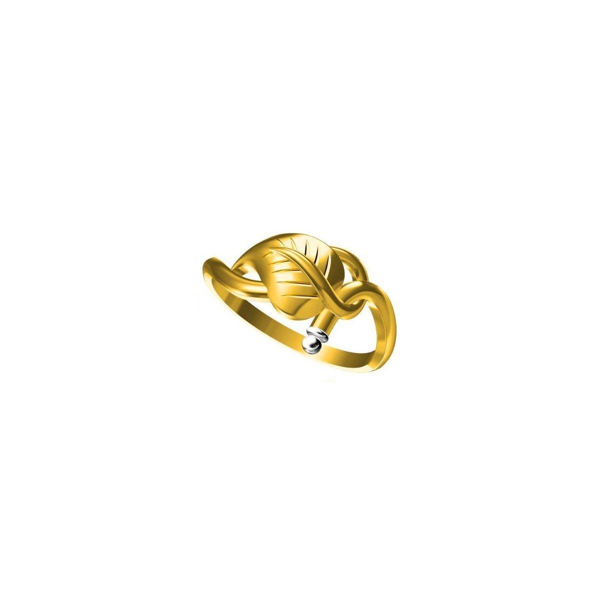 Petals Gold Ring