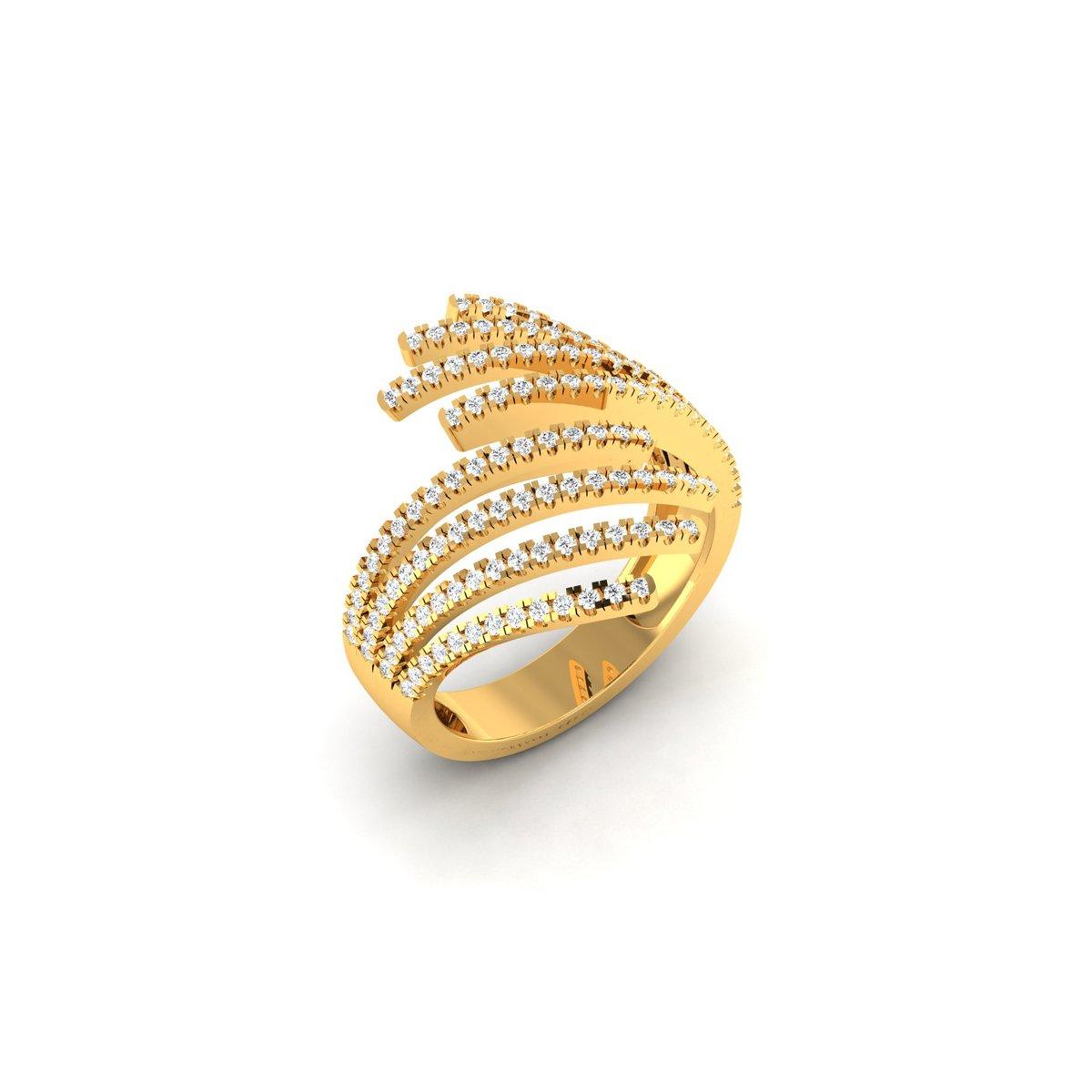 Aural Diamond Ring