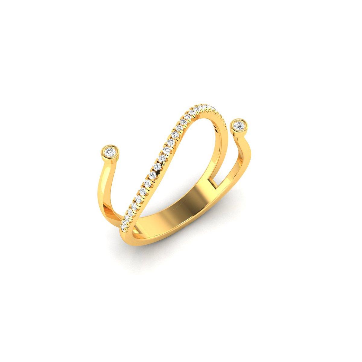 Spark Star Ring