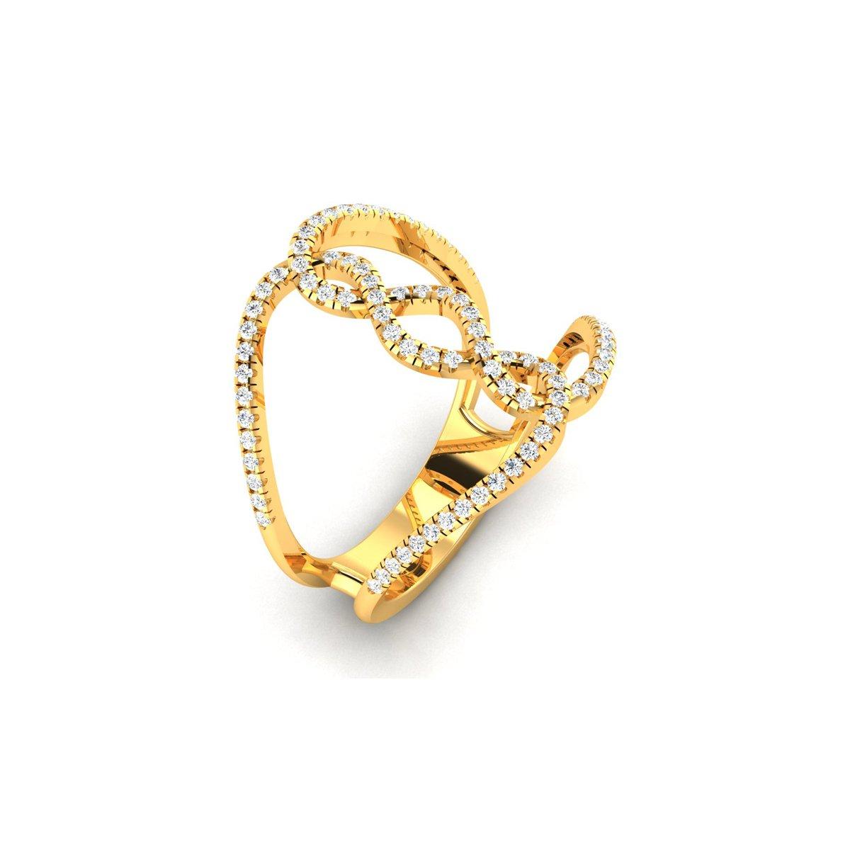 Starknot Diamond Ring