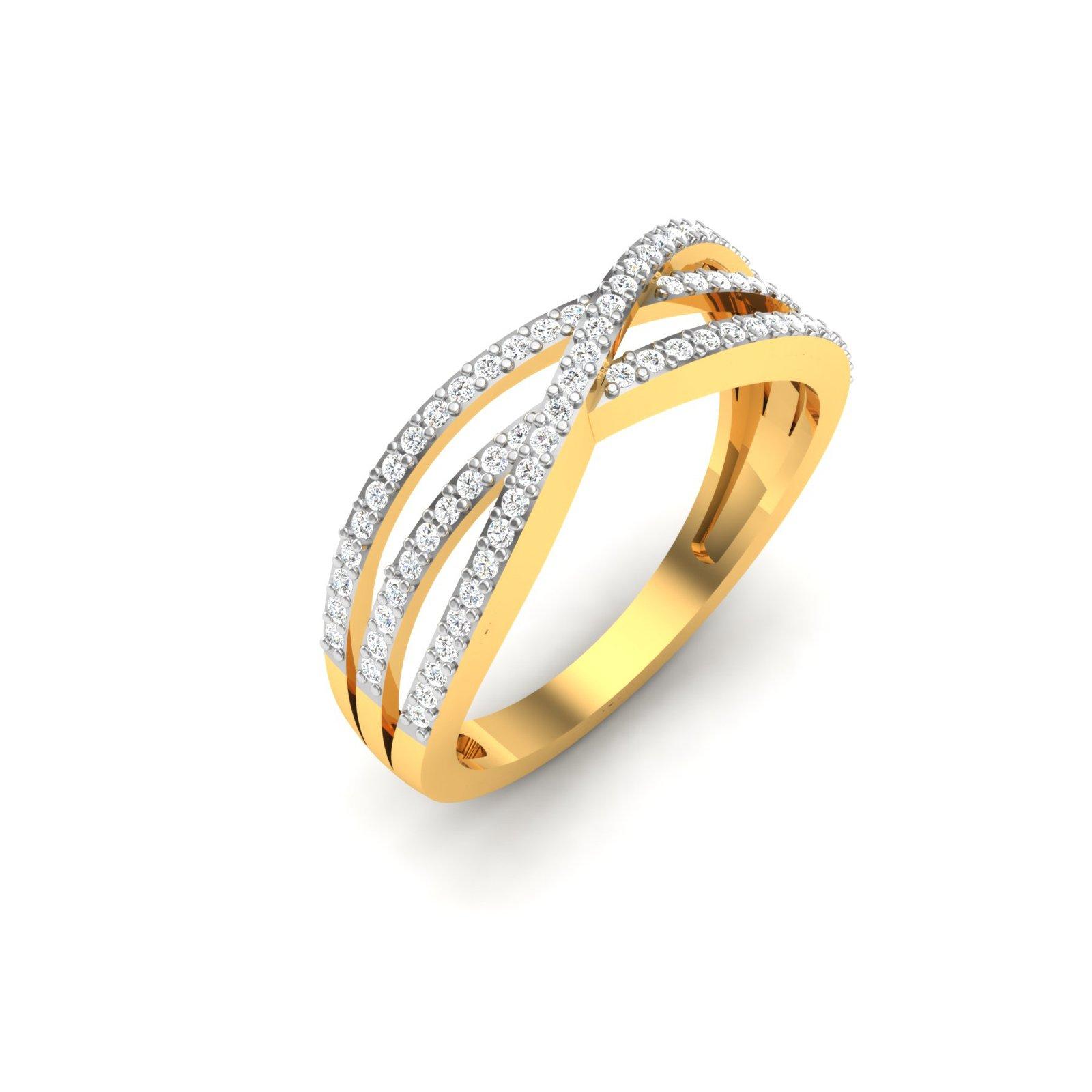 Lavender Gold Ring