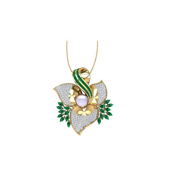 Motiban Diamond Pendant