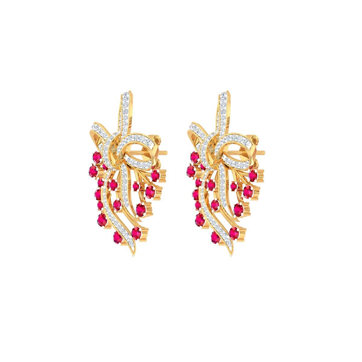 Figstar Diamond Earrings
