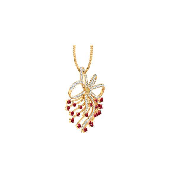 Figstar Diamond Pendant