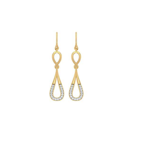 Stardrop Diamond Earrings