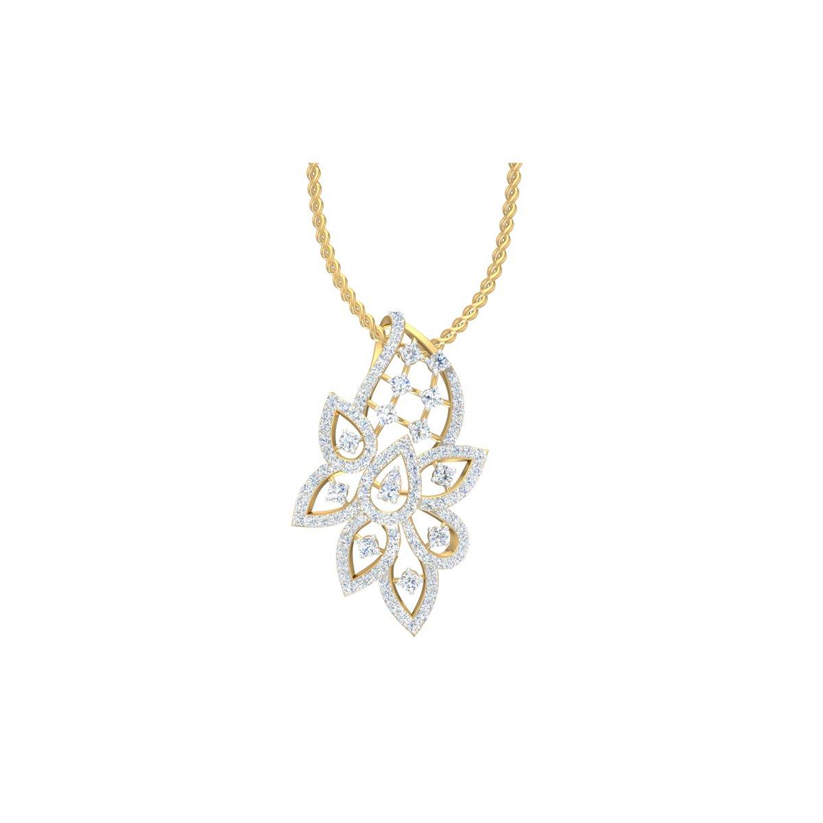 Arclight Diamond Pendant