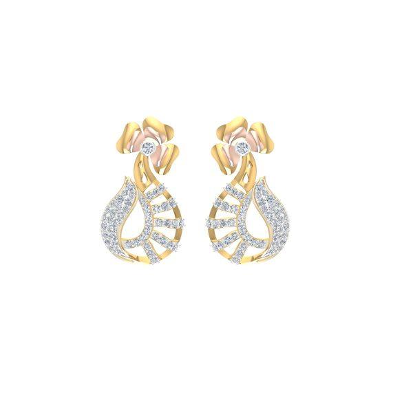 Liliane Diamond Earrings