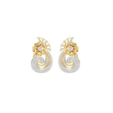 Garland Diamond Earrings