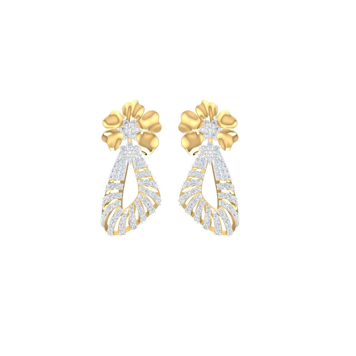 Bellerose Diamond Earrings