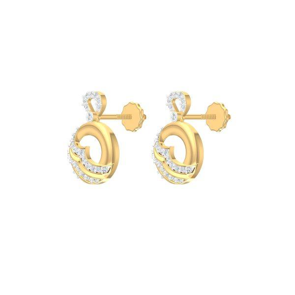 Chandra Diamond Earrings